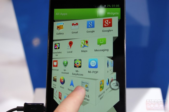 Das Grand Memo ist das erste Smartphone mit dem neuen Qualcomm Prozessor.
