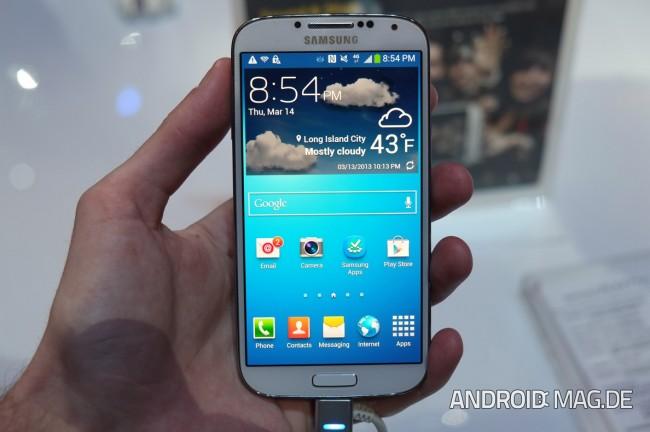 Sieht das Note 3 aus wie ein größeres Galaxy S4?