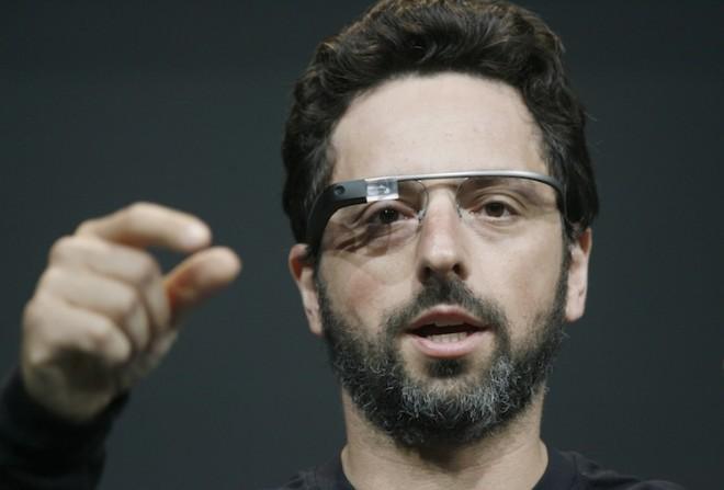 google glass brin