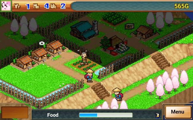 Zur Finanzierung deines Dorfes solltest du vorbeiziehende Händler mit von ihnen benötigten Waren eindecken.