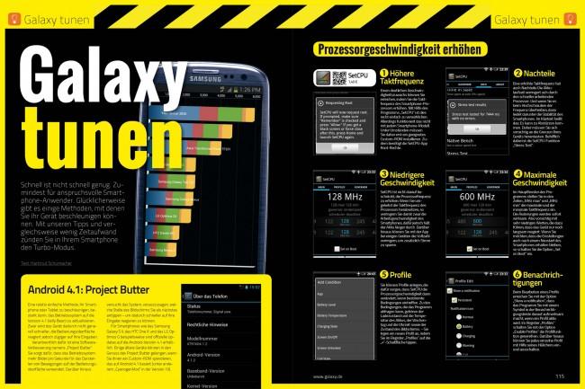 Galaxy tunen (2 von 8 Seiten)