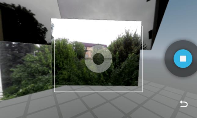 Der Google-Panoramamodus Photosphere ist in der neuen Android-App integriert. (Screenshot: androidauthority)