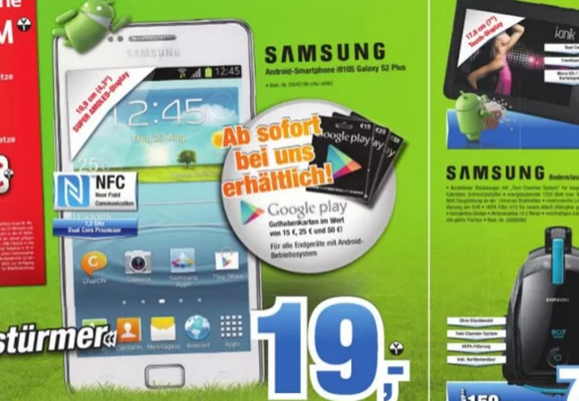 Google Play Gutscheinkarten: Foto: mobilegeeks.de.