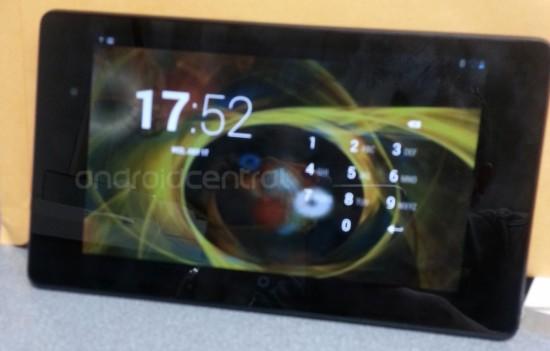 Das Nexus 7 soll in verschiedenen Speichervarianten angeboten werden.