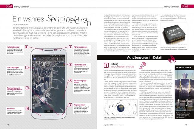Smartphone-Sensoren (2 von 6 Seiten)