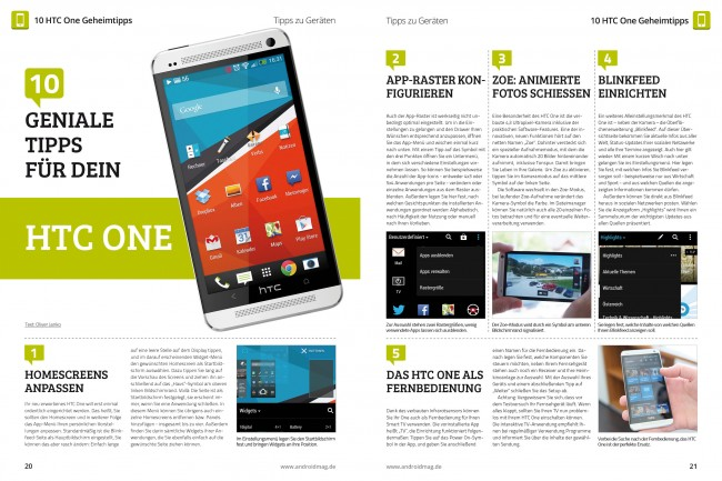 HTC One Tipps