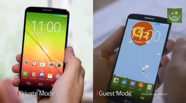 Der Guest Mode versetzt das Smartphone in einen eigens eingerichteten Zustand. Foto: Android Authority.