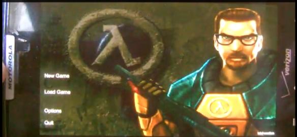 Half Life auf Android - Bild: Screenshot aus Video