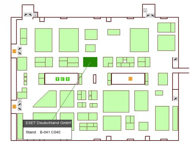 In Halle 10 am Stand B041 finden Sie die Android Magazin-Lounge im ESET-Stand.
