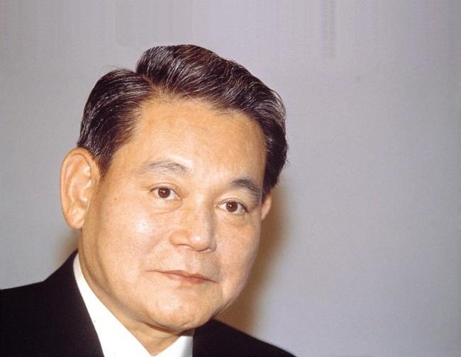 Lee Kun Hee. CEO von Samsung Electronics.