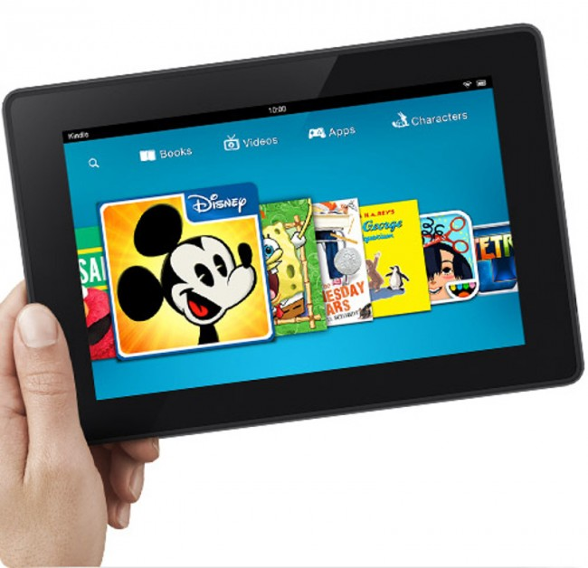 Mit dem Kindle Fire fing alles an... (Bildquelle: Amazon)