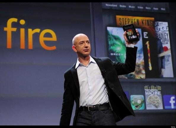 Mit den Kindle Fire-Tablets hat Amazon-Gründer Jeff Bezos einen Hit gelandet. Kommt jetzt ein kostenloses Smartphone? (Bild: TechnoBuffalo)