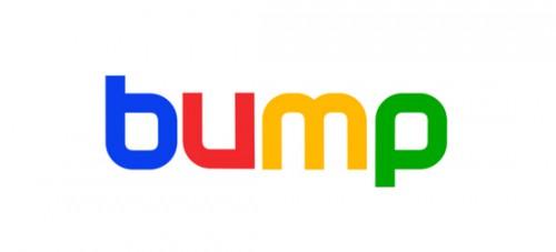 Neuer Herr im Haus: Das Bump-Logo in den Farben von Google (Bild: Bump)