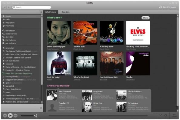 Spotify bietet Zugang zu Millionen Songs als Stream über Spotify Connect können sie bald auch an andere Geräte geschickt werden. (Bild: wired.com)