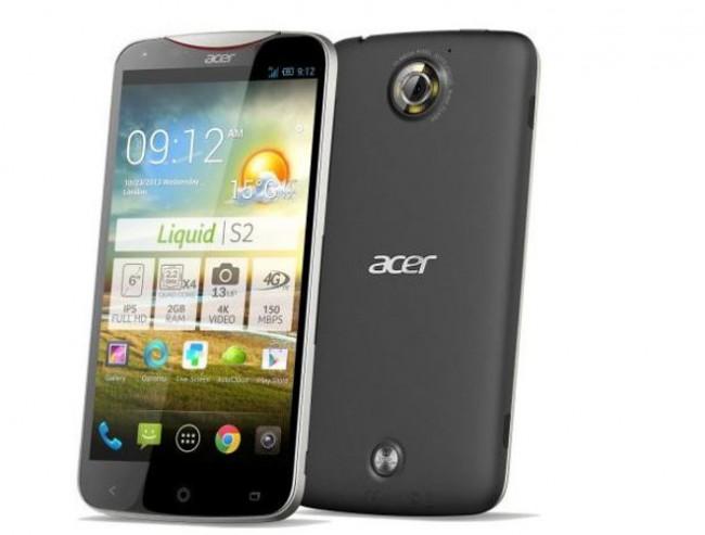 Ab 7. November ist das Acer Liquid S2 mit 4K Videofunktion erhältlich. Foto; Cyberport.