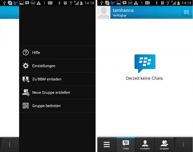 Wenn du mit Blackberry 10 unzufrieden bist, solltest du dir BBM genauer ansehen – das Programm erlaubt dir, den Kontakt mit deinen Freunden trotz des Betriebssystemwechsels nicht abreißen zu lassen.