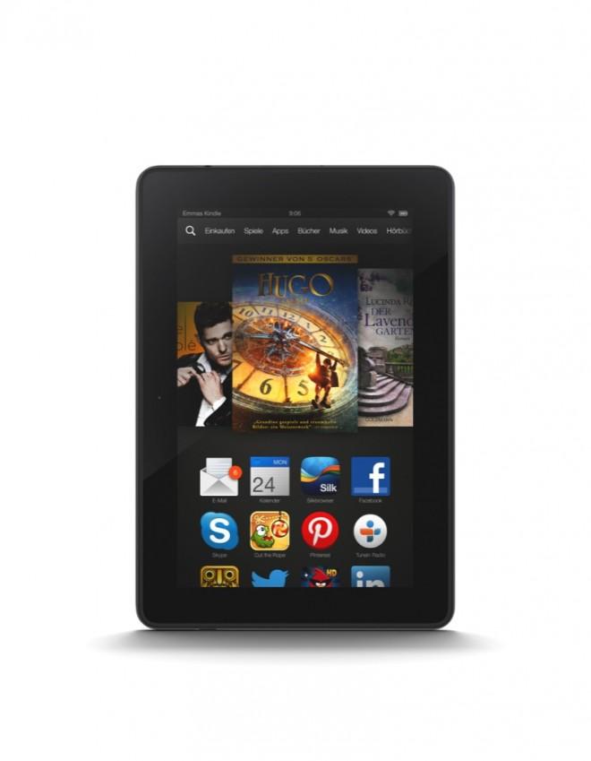 Auf den Kindle-Tablets (hier die 7-Zoll-Variante) läuft mit Fire OS 3.0 ein angepasstes Android. (Foto: Amazon)