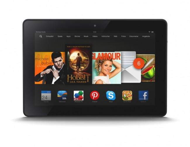 Die Kindle Fire HDx-Tablets sollen im November nach Europa kommen - amerikanische Medien bringen uns derweil erste Testberichte (Foto: Amazon)