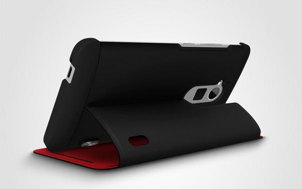 Das HTC One Max Power Case bringt einen kleinen Zweitakku mit (Bildquelle: AndroidAuthority)