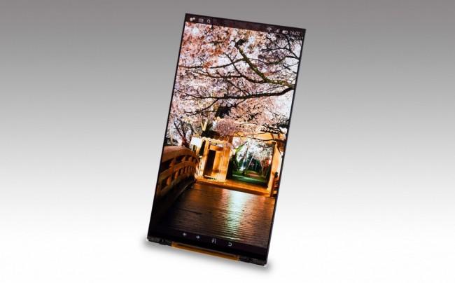 Japan Display hat den ersten Smartphone-Touchscreen mit Quad-HD-Auflösung präsentiert. (Foto: Japan Display Inc.)
