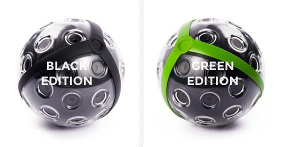 Der Ball wird in 2 verschiedenen Farbvariationen angeboten. Foto: indiegogo.