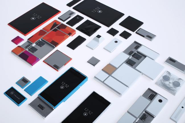 Nächstes Jahr soll es schon so weit sein und Project Ara wird auf den Markt kommen. (Bild: Motorola)