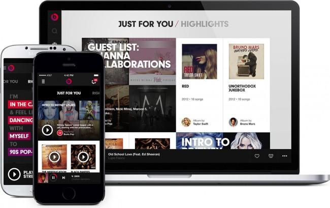 Beats Music: Der neue Streaming-Dienst wird anfangs PC's, Android und iOS unterstützen.