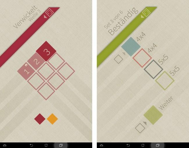 Die App bietet einen riesigen Funktionsumfang dank unterschiedlicher Puzzle-Größen.