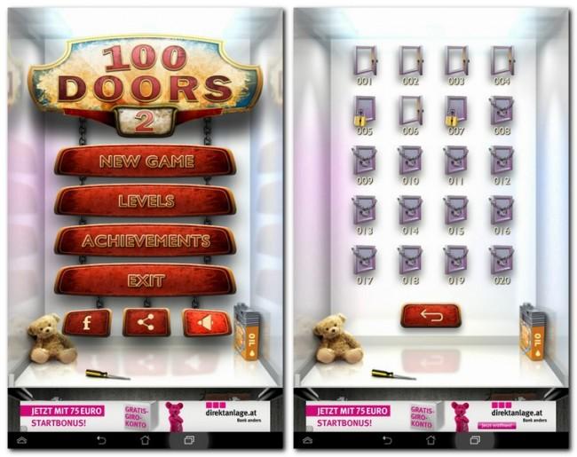 Im Nachfolger des erfolgreichen Spiels 100 Doors musst du eben so geschickt Tür um Tür öffnen.