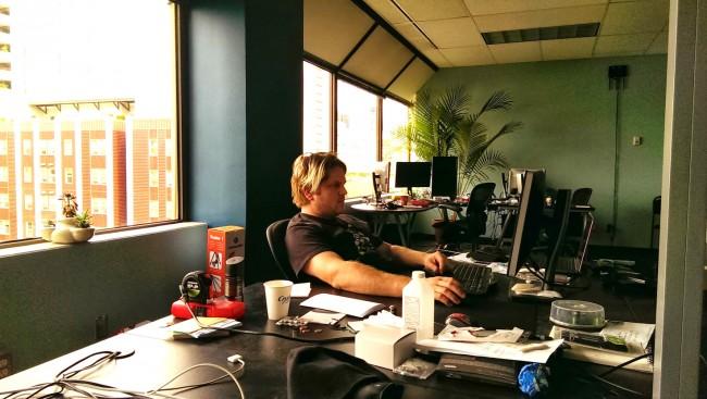 Im Hauptquartier der Cyanogen Inc. wird an der Firmenstrategie gearbeitet.