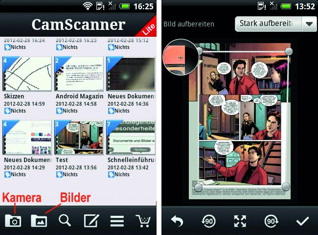 Die Idee des mobilen Scanners ist grandios, sowie seine Umsetung.