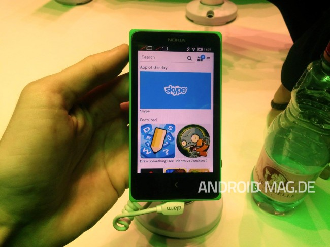 Das Nokia X ist ein gutes Beispiel für ein Billig-Smartphone.