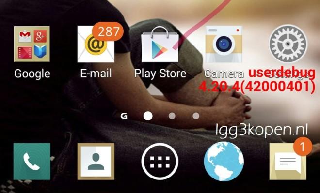 LGs Benutzeroberfläche soll angeblich in einem frischen Flat Design erstrahlen. (Bild: LG G3 Kopen.net)
