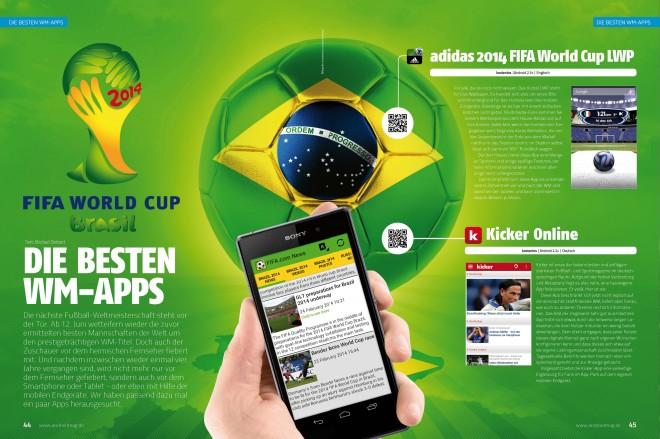 Die besten WM-Apps