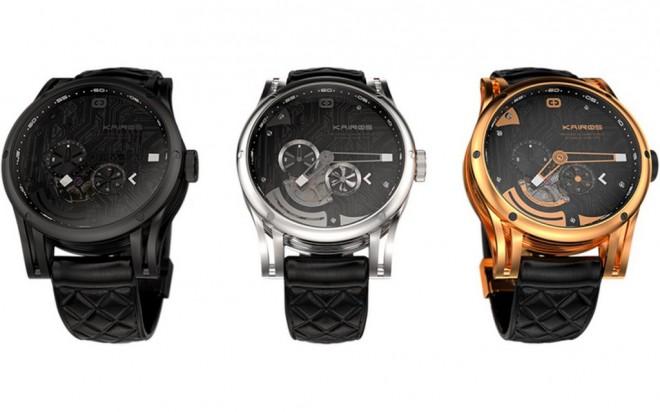 Schick, schick: Die Kairos Smartwatches verbinden traditionelle Armbanduhr mit den intelligenten Eigenschaften einer Smartwatch.