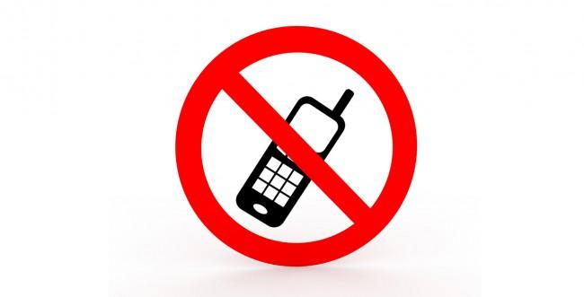Handy-Verbot ist ein Schild, das wir gar nicht gerne sehen (Foto: iStockPhoto [JM-Design])Handy-Verbot ist ein Schild, das wir gar nicht gerne sehen (Foto: iStockPhoto [JM-Design])