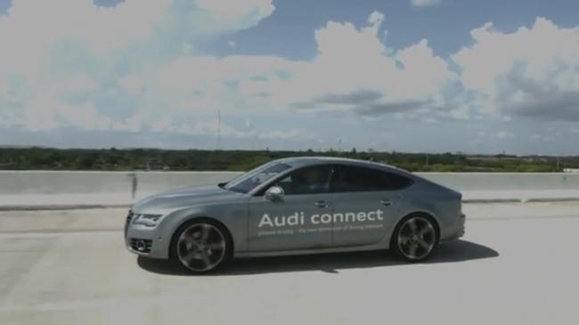 Neben den selbstfahrenden Autos arbeitet Audi auch an etwas einfacheren Methoden.