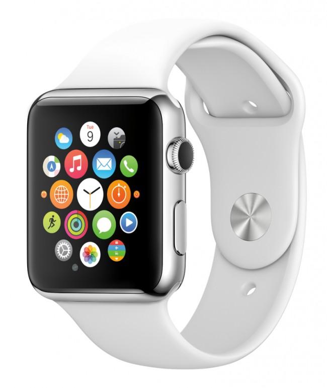 Ähnlich wie bei der AppleWatch soll der Benutzer auch mit Hilfe der Swatch-Smartwatch bezahlen können. (Foto: Apple)