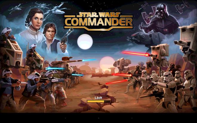 Star Wars Commander - Titelbild