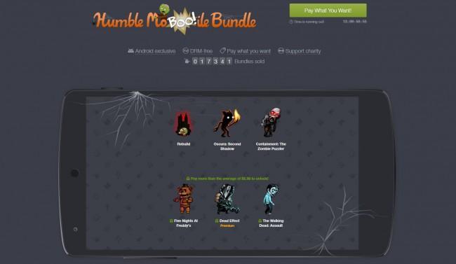 Auch das neue Humble Mobile Bundle ist im Halloween-Motto gehalten.