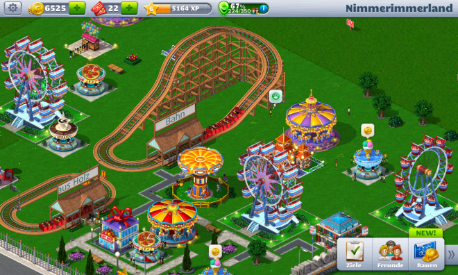 Rollercoaster Tycoon 4 Mobile - 01