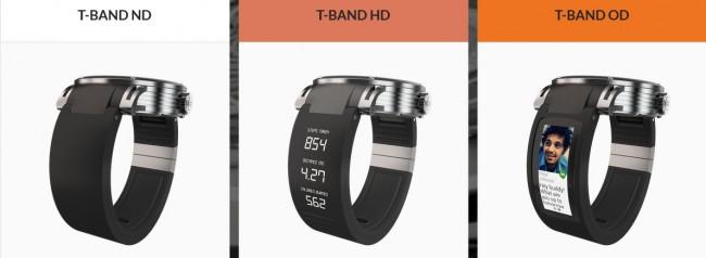Bei dem T-band handelt es sich um ein smartes Armband (wahlweise mit Bildschirm), an dem du das Gehäuse deiner analogen Uhr befestigen kannst. (Foto: Kairos)