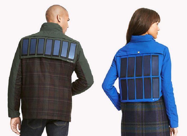Praktisch, aber hässlich: Tommy Hilfiger hat eine Jacke mit integrierten Solar-Panels vorgestellt