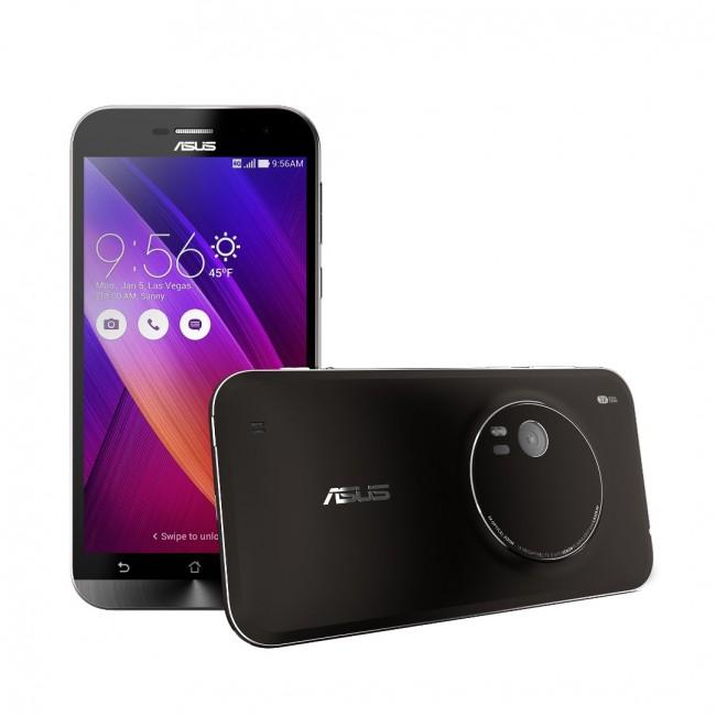 """Das """"ZenFone Zoom"""" bietet einen dreifachen optischen Zoom, einen optischen Bildstabilisator und eine laserunterstützte Autofokusfunktion. (Foto: Asus)"""