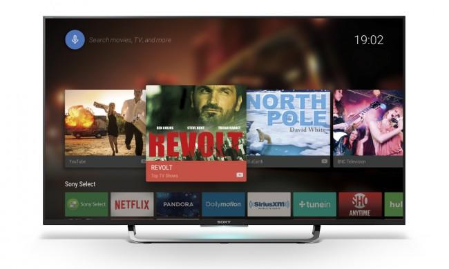 Alle Sony-Fernsehgeräte der Bravia-Generation 2015 werden das Betriebssystem Android TV verwenden. (Foto: Sony)