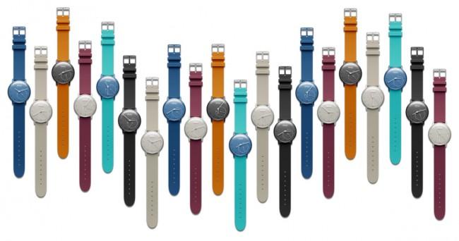 """Zusätzlich verfügbar sein soll in Zukunft eine Reihe von """"verspielten"""" Armbändern in sechs Farben. (Foto: Withings)"""