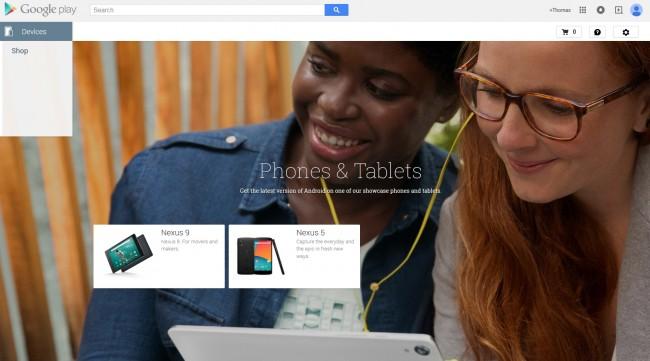 Das ist alles was von der Google Play Edition im Play Store übrig ist.