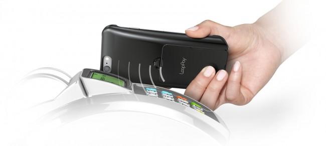 """Die """"Magnetic Secure Transmission""""-Technik emuliert mit dem Smartphone einen Magnetstreifen. (Foto: LoopPay)"""