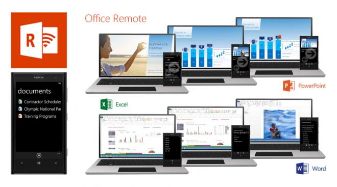 Mit Office Remote lässt sich dein MS Office 2013 nun auch mit einem Android-Smartphone steuern. (Screenshot Microsoft)