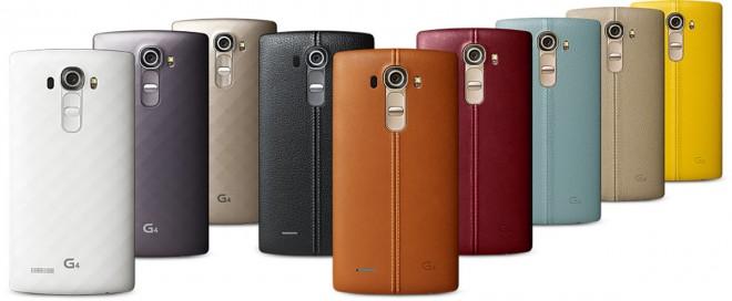 Das LG G4 soll unter anderem mit einer unterschiedlichen Rückseite aus Echtleder auf den Markt kommen.